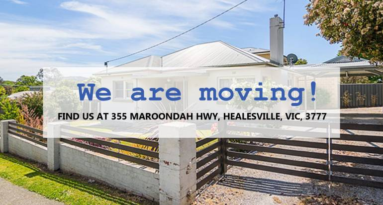 Our Healesville clinic is relocating!