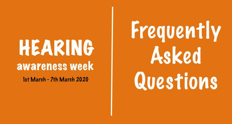 Hearing Awareness Week FAQs