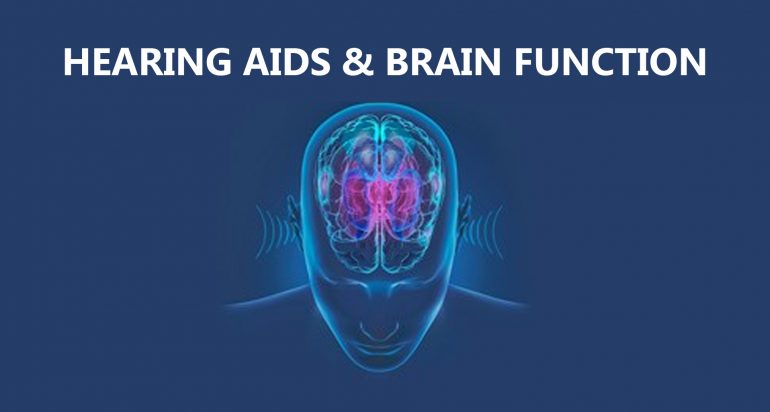 Hearing Aids and Brain Function
